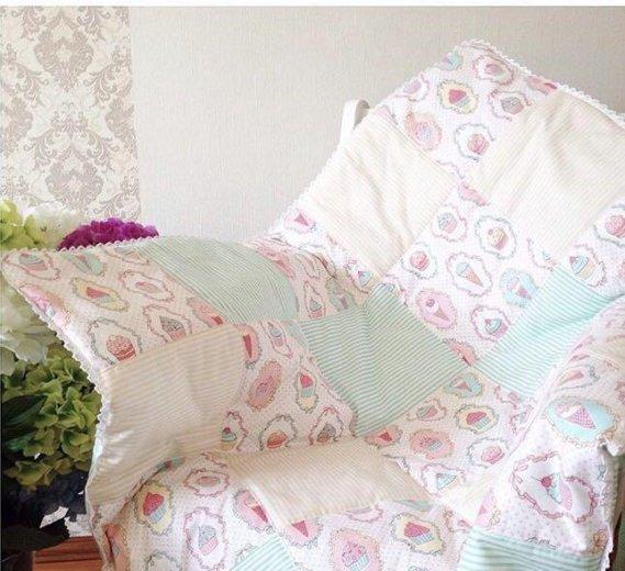 Бортики в кроватку для деток. Фото 1. Нальчик.