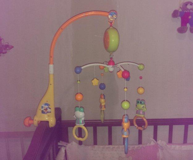 Музыкальная игрушка на кроватку. Фото 1. Краснодар.