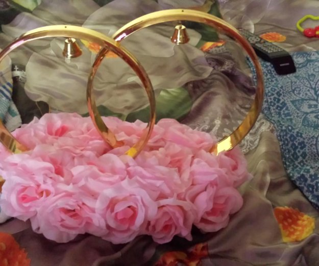 Кольца для авто на свадьбу. Фото 1. Москва.