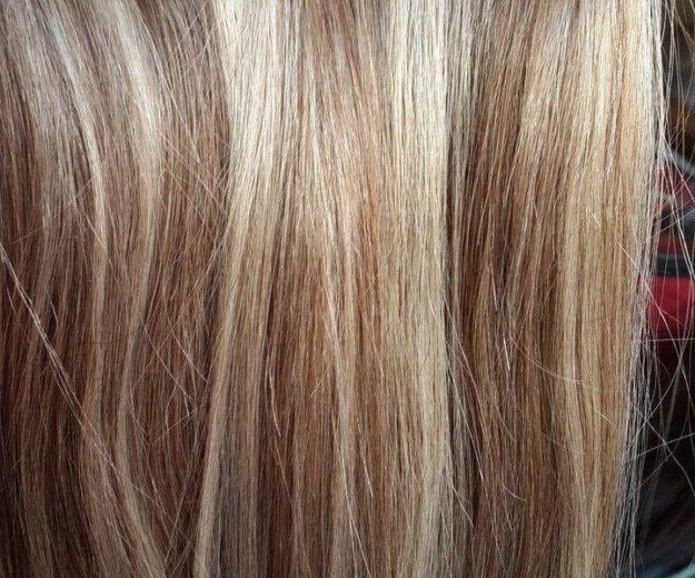 Волосы на заколках. Фото 2. Воркута.