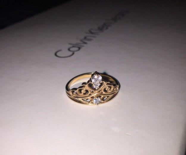 Кольцо корона золото. Фото 4. Сочи.