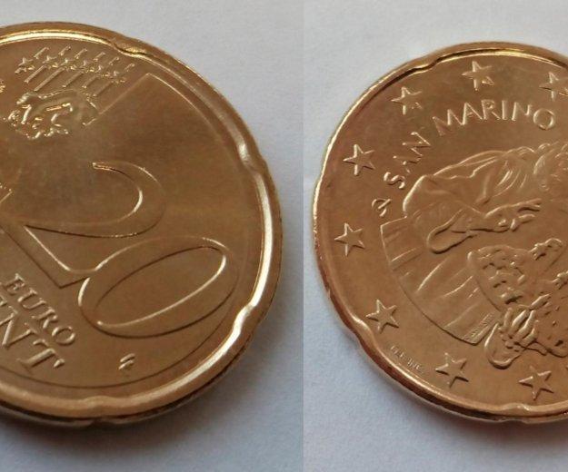 Евро сан-марино. Фото 2. Рязань.
