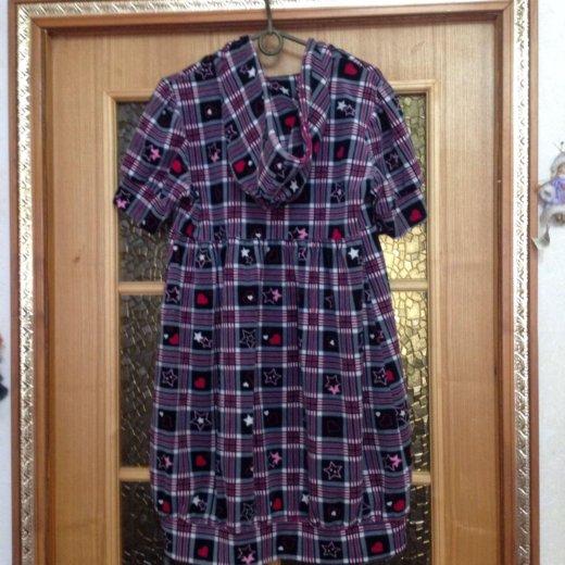 Платье халат велюр. Фото 1. Долгопрудный.