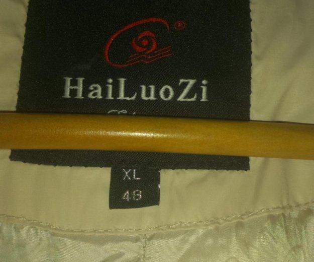 48 размер.зимнее пальто с сумкой. Фото 2. Москва.