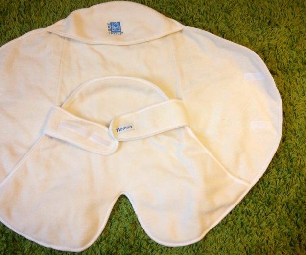 Пеленальное флисовое одеяло -конверт new castle.. Фото 1. Мытищи.