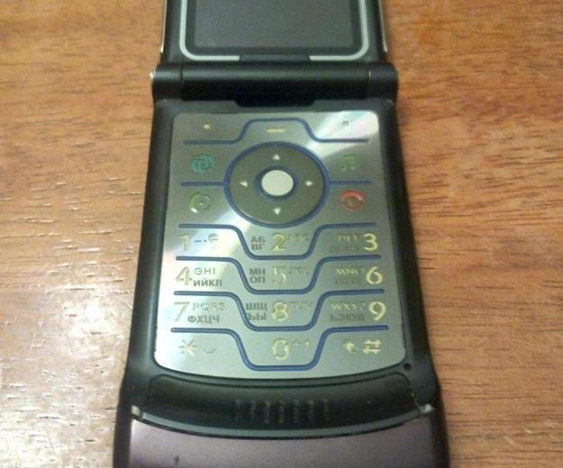 Motorola v3 i бордовый. Фото 3. Москва.