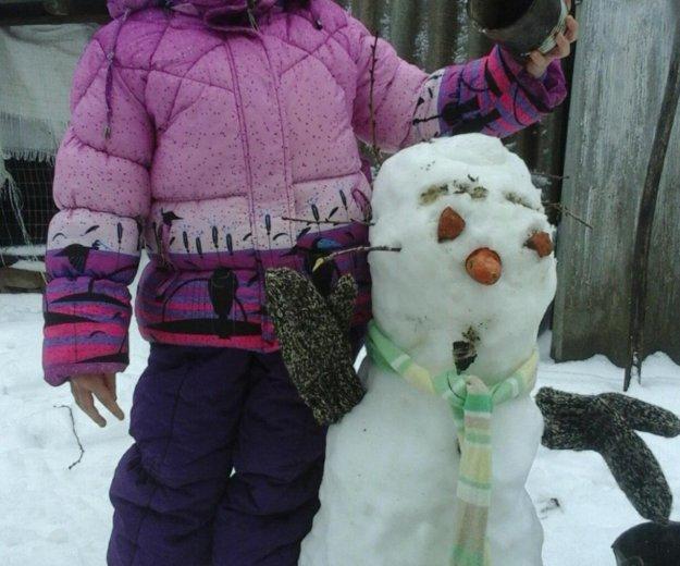 Зимний комплект куртка +штаны на подтяжках. Фото 1. Ростов-на-Дону.