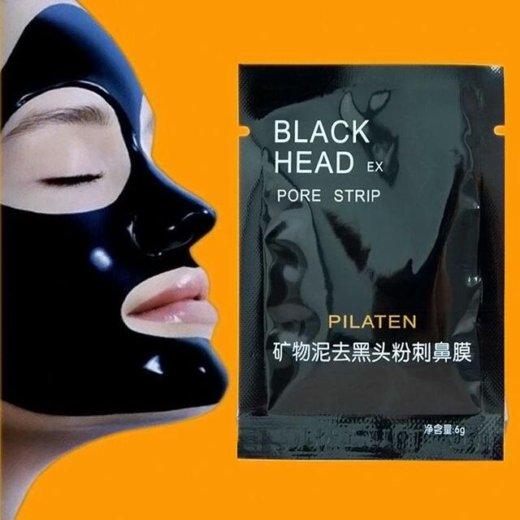 Черная маска для лица. Фото 3.