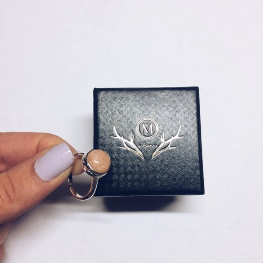 Кольцо в подарочной коробке. Фото 1. Краснодар.