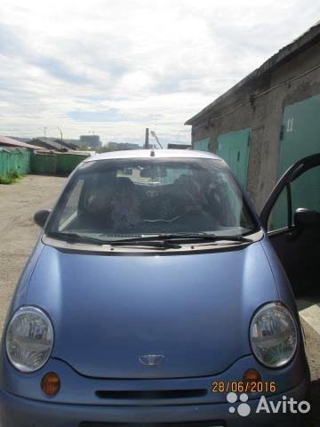 Daewoo matiz 2007г. Фото 3. Мурманск.