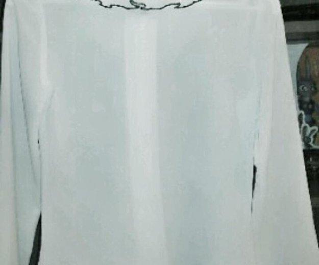 Нарядная белая блузка. Фото 4. Москва.