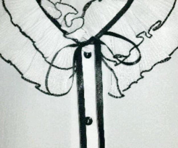 Нарядная белая блузка. Фото 2. Москва.