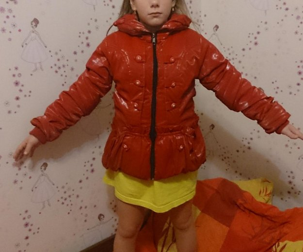 Курточка на девочку. Фото 2. Ликино-Дулево.