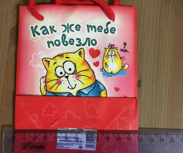 Пакет подарочный c открыткой. Фото 2. Санкт-Петербург.