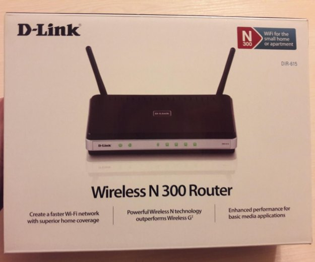 D-link wireless n300 router. Фото 1. Москва.
