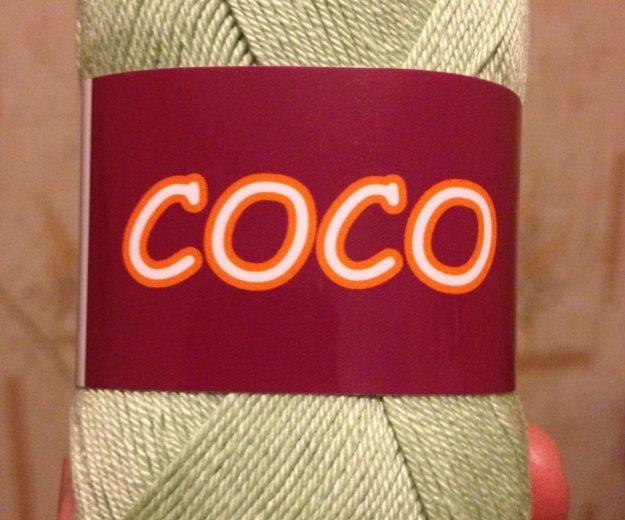 Пряжа coco vita cotton. Фото 2. Новочебоксарск.