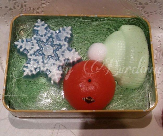 """Набор """"новогодний #04"""". мыло ручной работы. Фото 2. Раменское."""