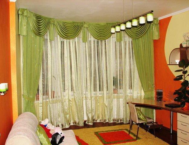 Тюль, шторы, портьерная ткань, карнизы. Фото 4. Гулькевичи.