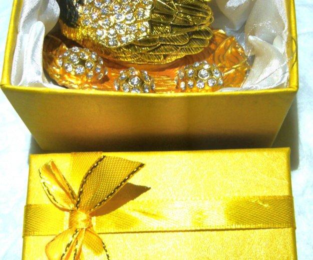 Шкатулка-курочка, отличный новогодний подарок. Фото 4. Москва.