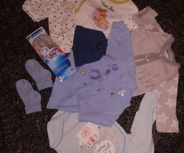Пакет для малыша. кофта. боди. Фото 2. Москва.