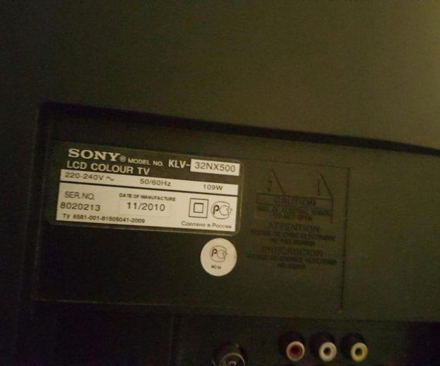 Sony bravia 32nx500. Фото 2. Москва.