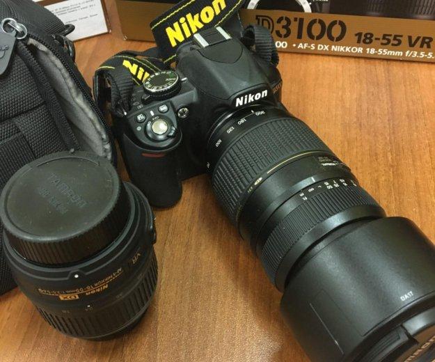 Фотоаппарат nikon d3100. Фото 1. Москва.