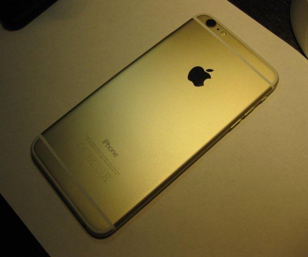 Iphone 6 plus 64gb gold ростест. Фото 1. Москва.