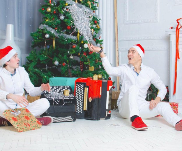 Дуэт баянистов - bossa nova duo. Фото 2. Москва.