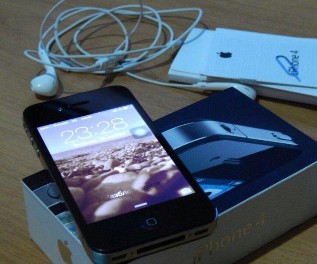 Iphone 4 32г. Фото 1.