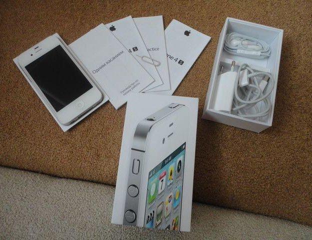 Iphone 4s белый(white). Фото 1. Калининград.