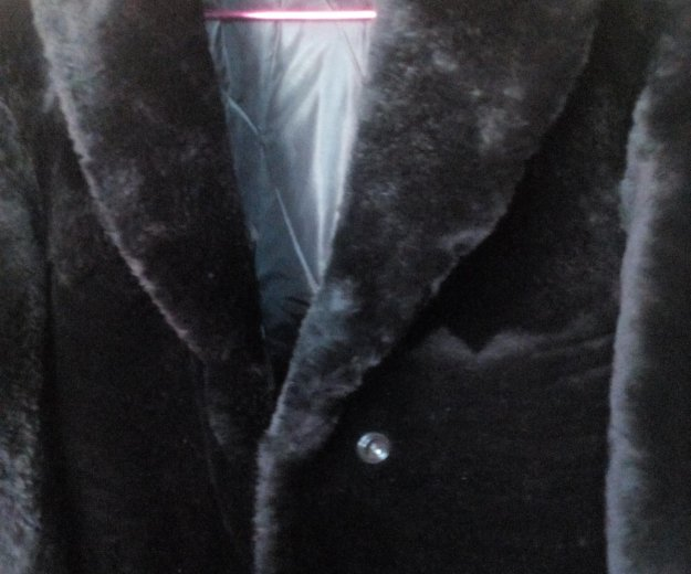 Шуба натуральная овчина или меняю на значки. Фото 1. Иркутск.
