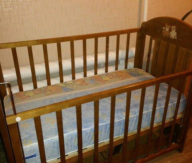 Кроватка- качалка. Фото 2. Альметьевск.