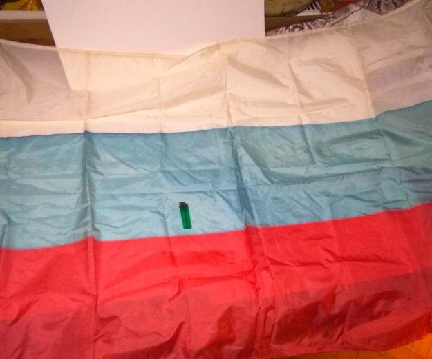 Флаг россии большой. Фото 1. Москва.