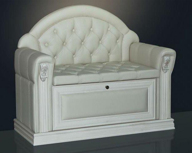 Банкетка с подлокотниками. пуф. диван. кресло. Фото 1. Санкт-Петербург.