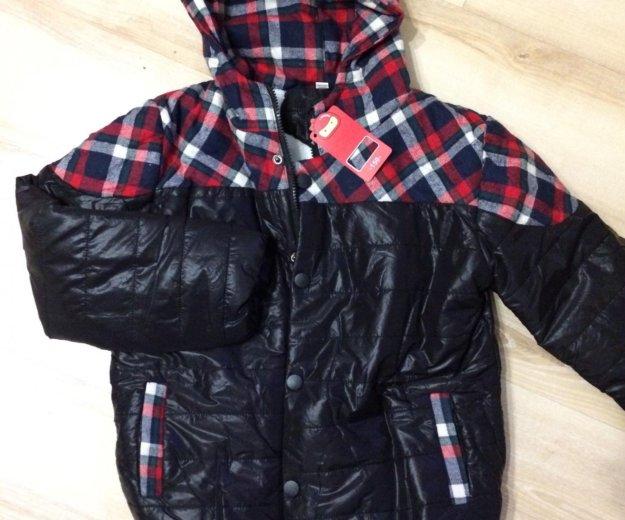 Новая куртка на мальчика рост 134см. Фото 1. Улан-Удэ.