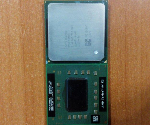 Процессор амд и интел для ноутбуков. Фото 1. Серпухов.