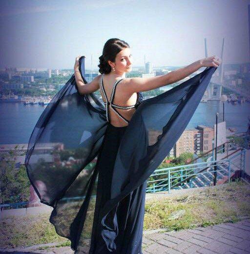 Вечернее ( выпускное) платье. Фото 1. Владивосток.