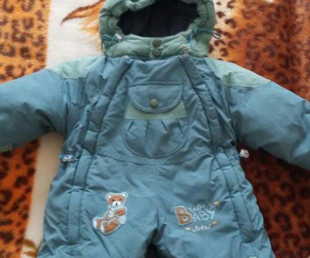 Срочно! комбинезон зимний детский. Фото 1. Хабаровск.