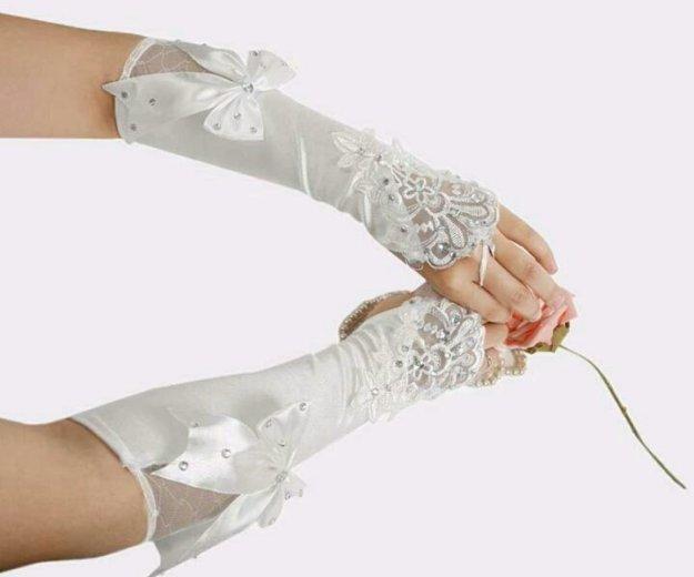 Свадебные перчатки. Фото 1. Солнечный.