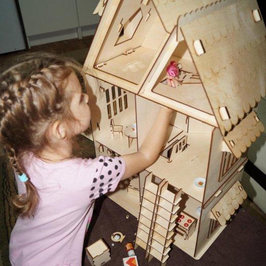 Кукольный домик. Фото 3. Новосибирск.