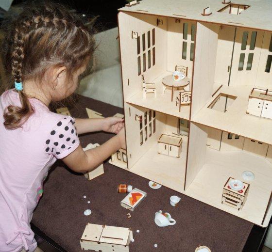 Кукольный домик. Фото 4. Новосибирск.