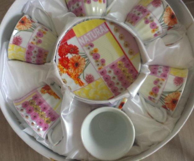 Абсолютно новый чайный набор. Фото 1. Хабаровск.