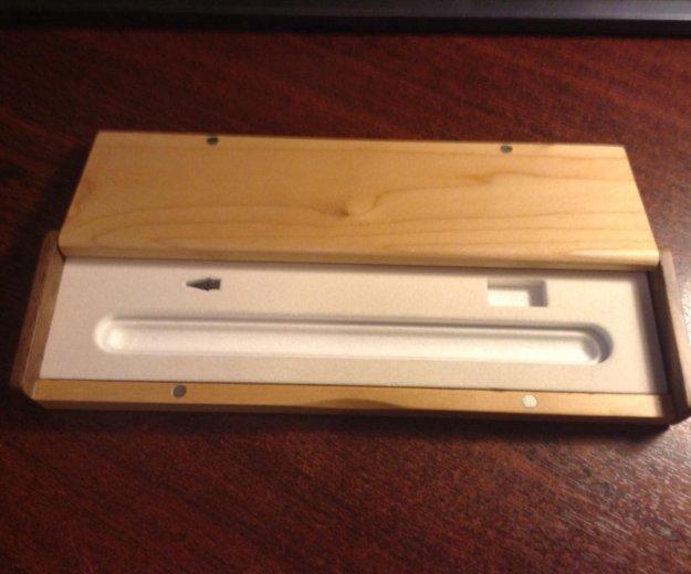 Деревянный футляр для appl карандаша. Фото 4.