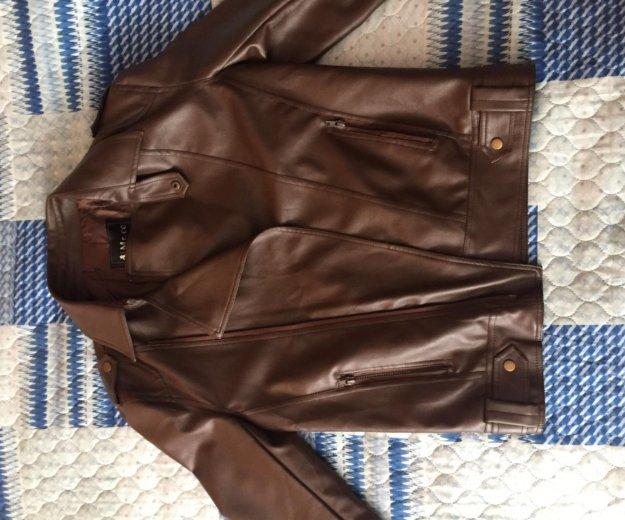 Куртка мужская весна-осень ( не кожа). Фото 1. Хабаровск.