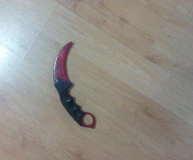 Керамбит-кровавая паутина из игры кс го. Фото 1. Уссурийск.