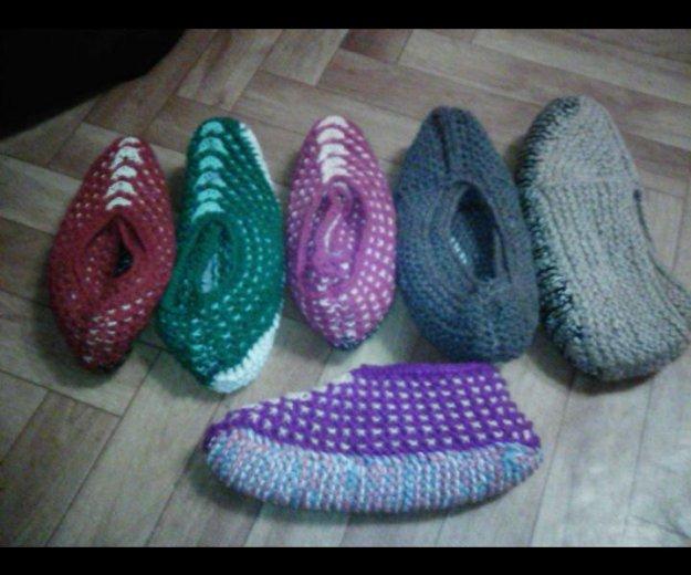 Вязание тапочки. Фото 1. Сургут.