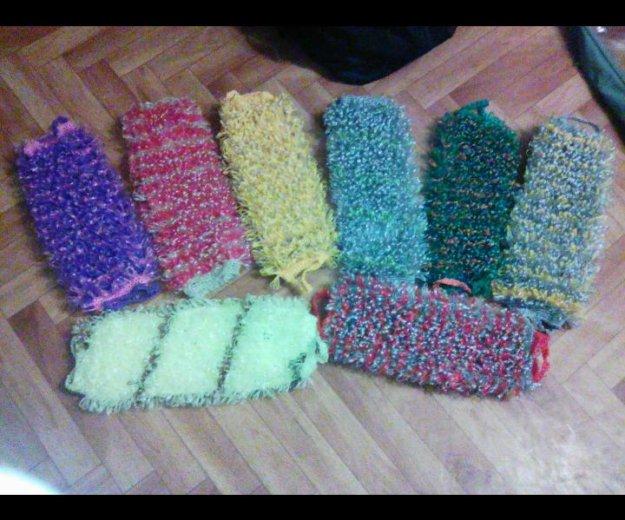 Вязание мочалки. Фото 1. Сургут.