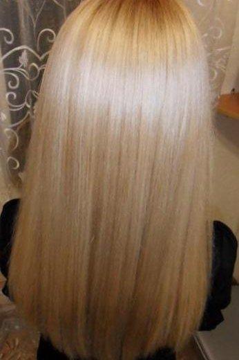 Горячее обертывание волос. Фото 1. Юбилейный.