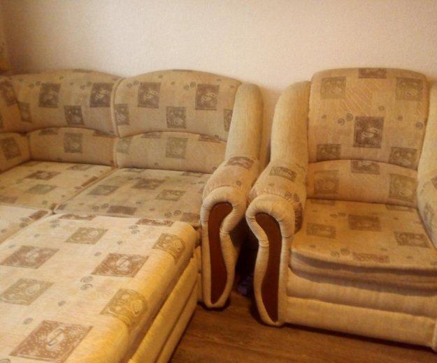 Диван + два кресла. Фото 1. Электросталь.