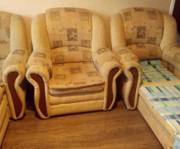 Диван + два кресла. Фото 2. Электросталь.